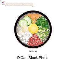 Kimchi clipart Wine Vegetables in Bibimbap Meat