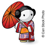 Kimono clipart #7