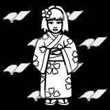 Kimono clipart #11