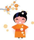 Kimono clipart #8