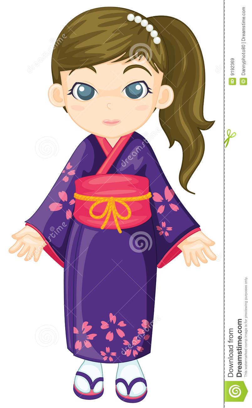 Kimono clipart #9