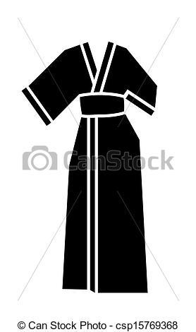 Kimono clipart clothes Kimono dress vector kimono woman's