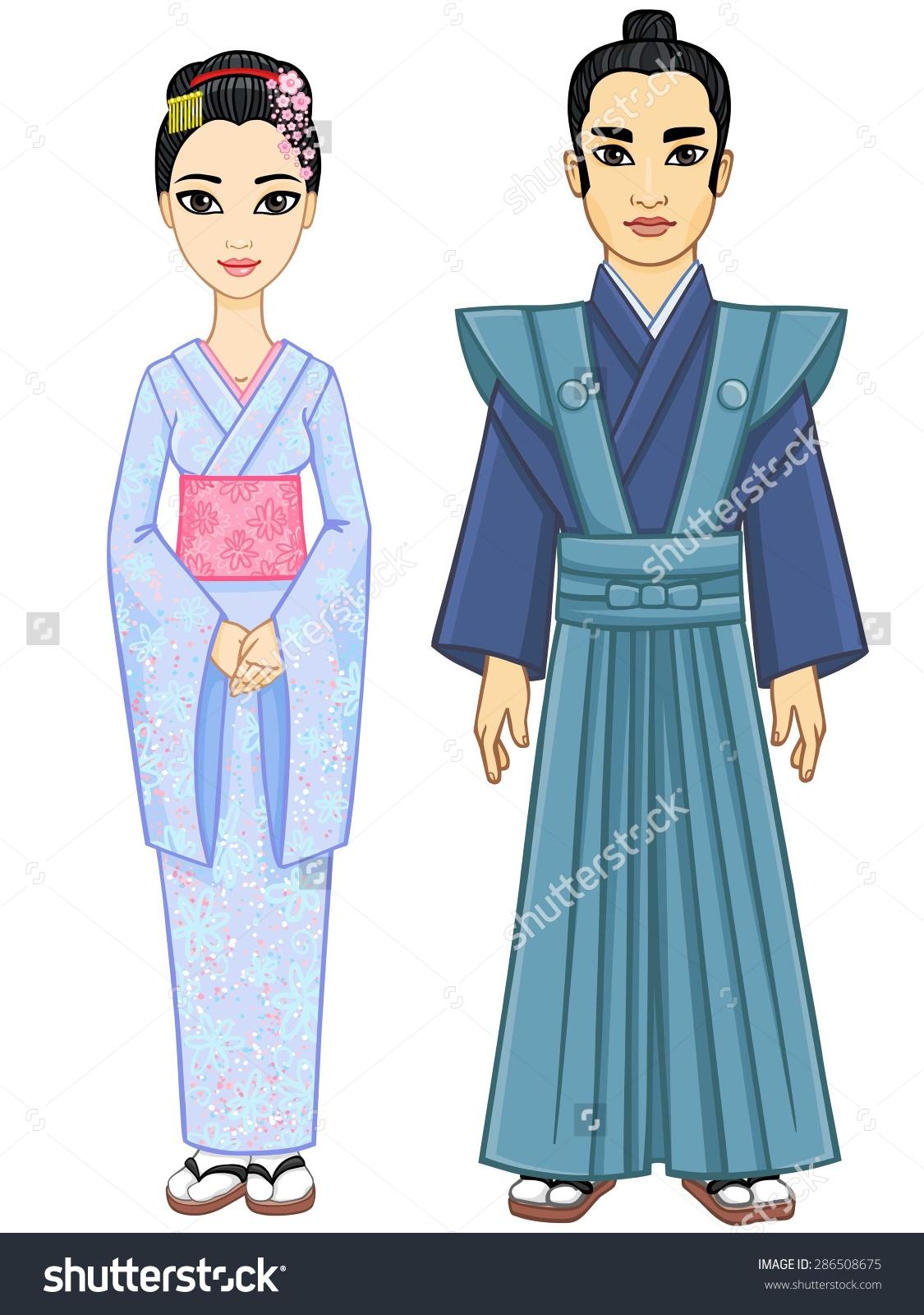 Kimono clipart clothes Clipart #8 clipart Japanese Download