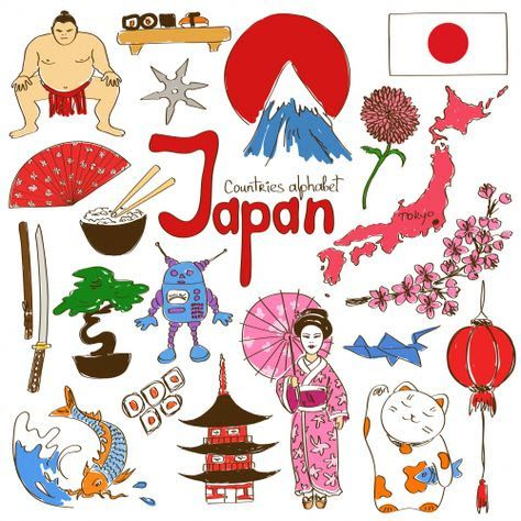 Kimono clipart japanese child Japan Pin best and on