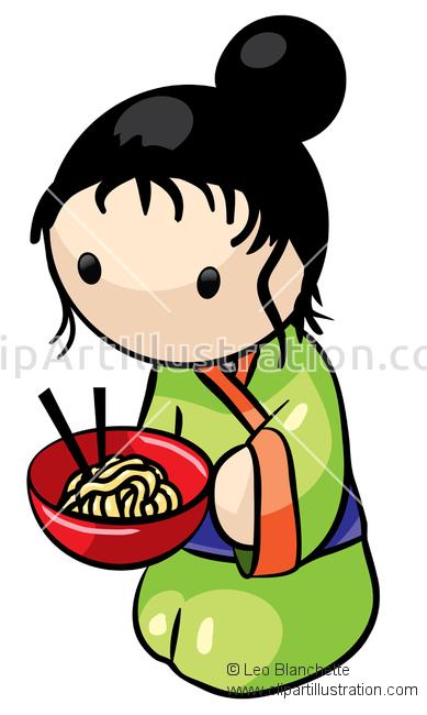 Kimono clipart japanese person ClipArt Illustration ClipArt in Illustration