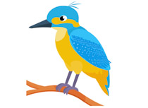 Kingsfisher clipart Results  Size: Kingfisher Search