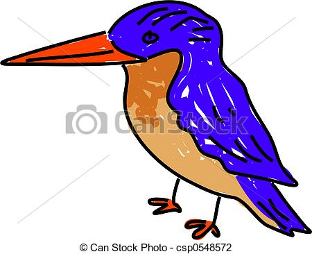 Kingfisher clipart Illustration Art white kingfisher art