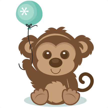 Baboon clipart birthday #19 Download Snow svg svg