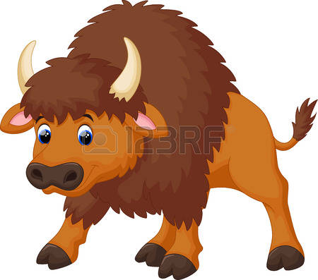 Bison clipart cartoon Clipart drawings clipart clipart Bison
