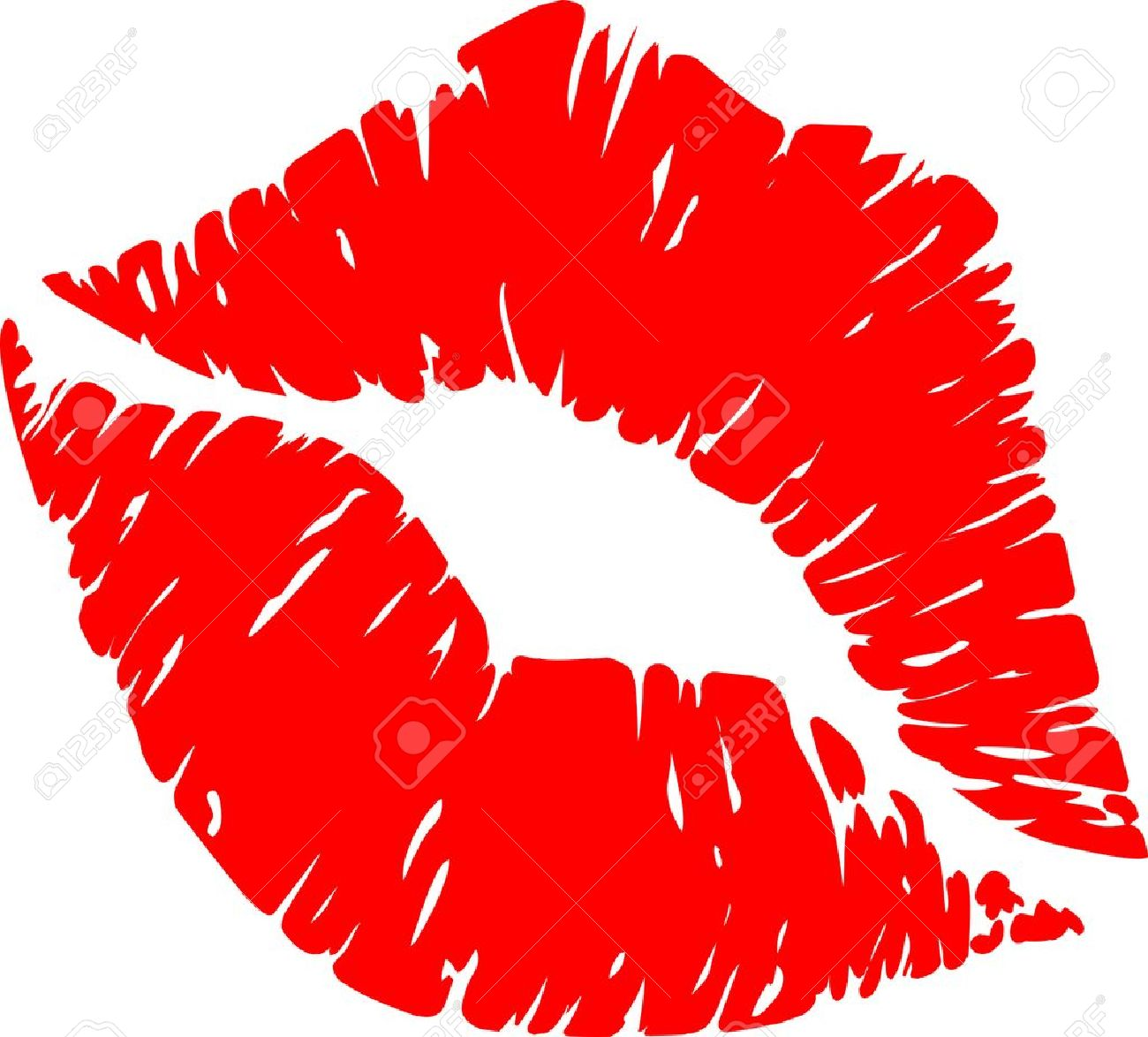 Lipstick clipart kissy lip Kiss of Red Clipart Clipartwork