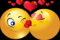 Kisses clipart yellow Smiley image Kisses clipart 5
