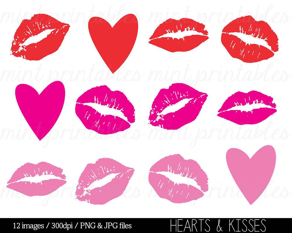 Kisses clipart yellow Item? Heart Like Kisses Kiss
