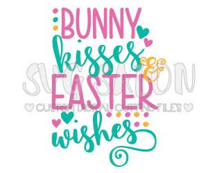 Kisses clipart bunny Easter Kisses Archives EPS DXF
