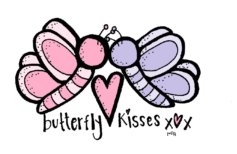 Kisses clipart butterfly 5Kb kisses Butterfly clipart clipart