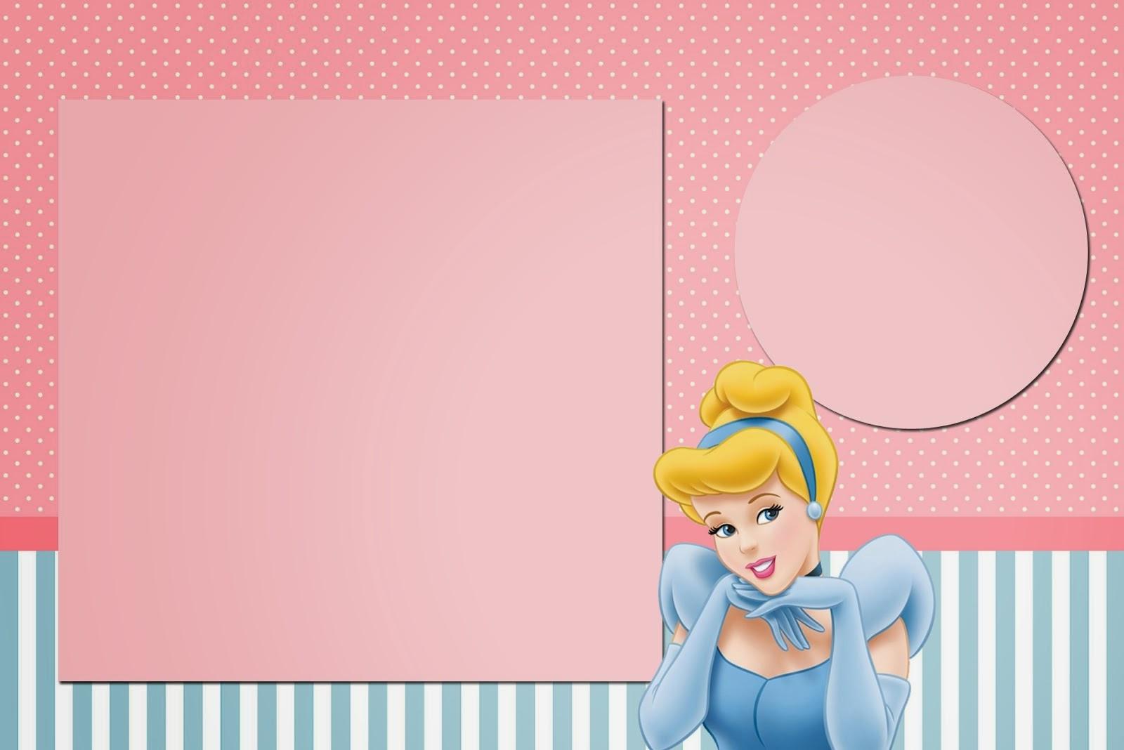 Kisses clipart cinderella Pink Blue:  Invitations Free