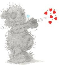 Kisses clipart cute teddy bear Beertjes me on you Tatty