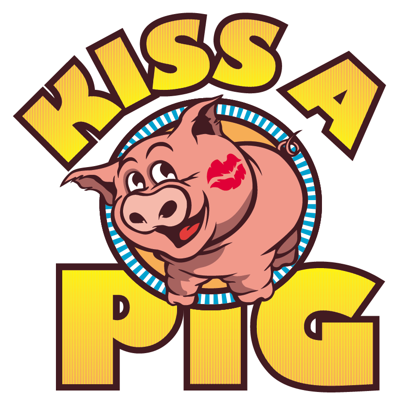 Kisses clipart pig Pig Job Logo Kiss philaxdesign