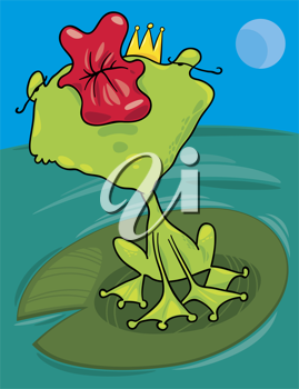 Kisses clipart royal prince Free Frog a Free of