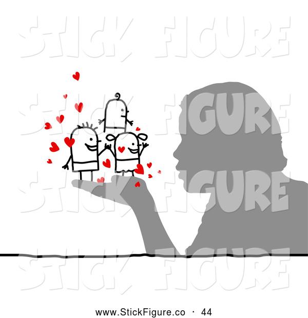 Kisses clipart stick figure Art People a to Stick