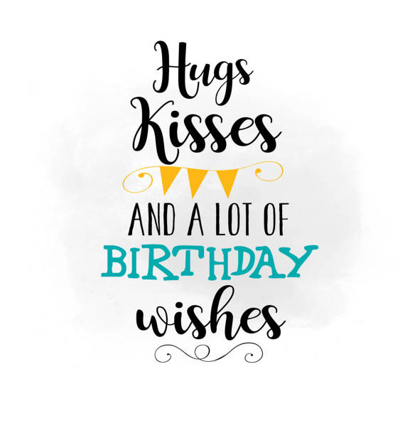 Kisses clipart the word From Png Birthday wishes Kisses
