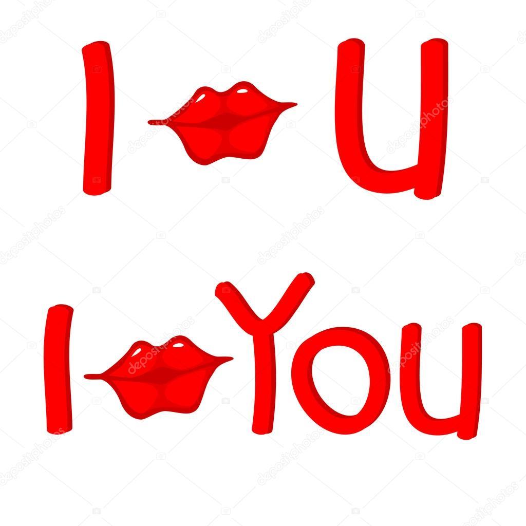 Kisses clipart you #1877029 Vector Roman_Volkov you —