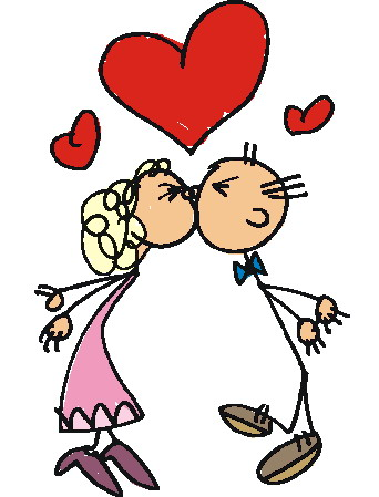Kissing clipart Art on Clip Download Free