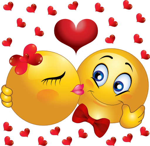 Kisses clipart animated Displaying Animated Kiss Smiley