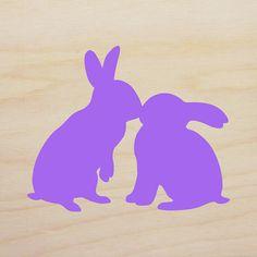 Kisses clipart bunny Bunny Block Kiss Easter 6