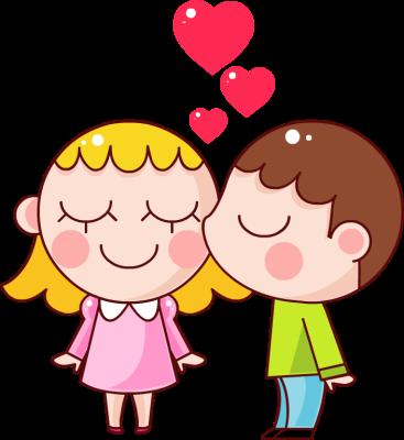 Romantic clipart lover #3