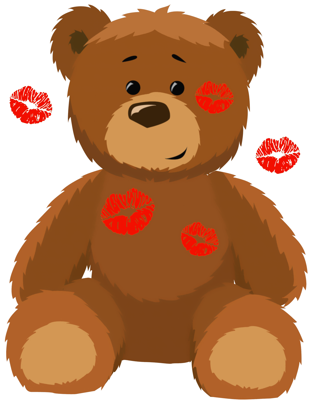 Kisses clipart cute Gallery size Kisses with Bear