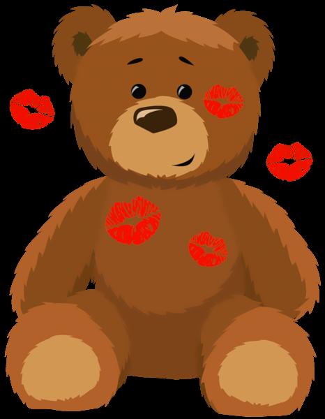 Kisses clipart cute teddy bear With Kisses Ursinhos Clipart Cute