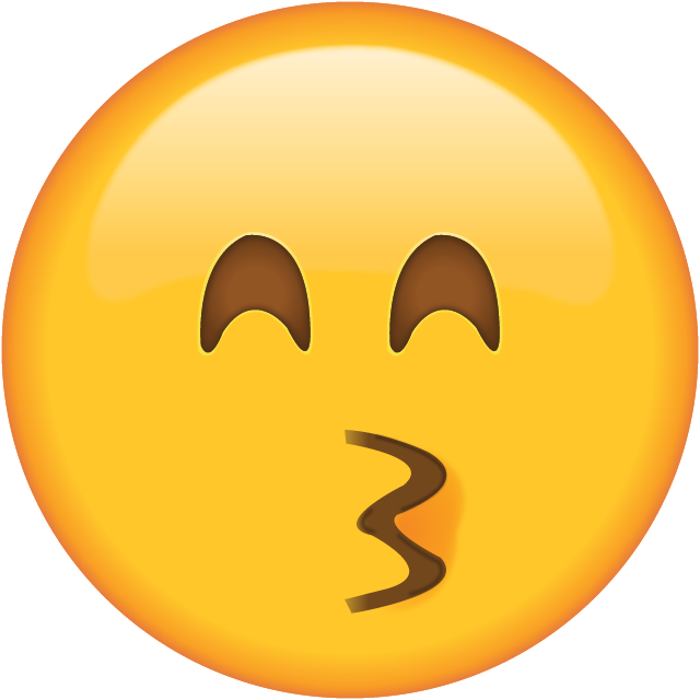Kisses clipart emoji Emoji Face Emoji Download Kissing