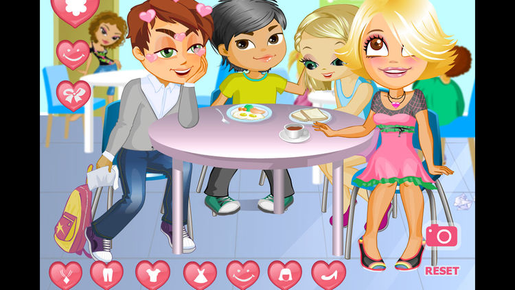 Kisses clipart first date CoolGames Kiss Dress by Date
