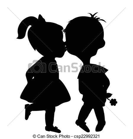 Kisses clipart nice boy Vector boy of csp22992321 and