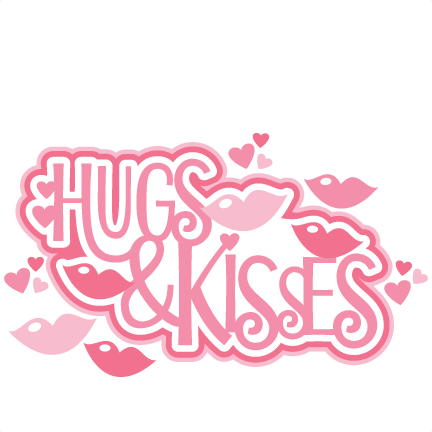 Kisses clipart cute Free and Kisses clipart title3