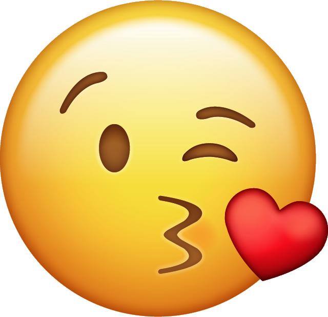 Kissing clipart iphone emoji #7