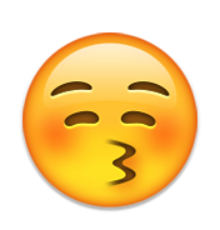 Kissing clipart iphone emoji #2