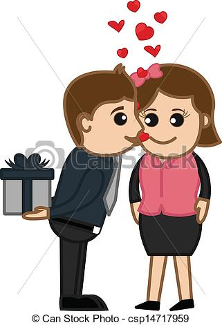 Kisses clipart nice boy Csp14717959 Boy Vector Vector a