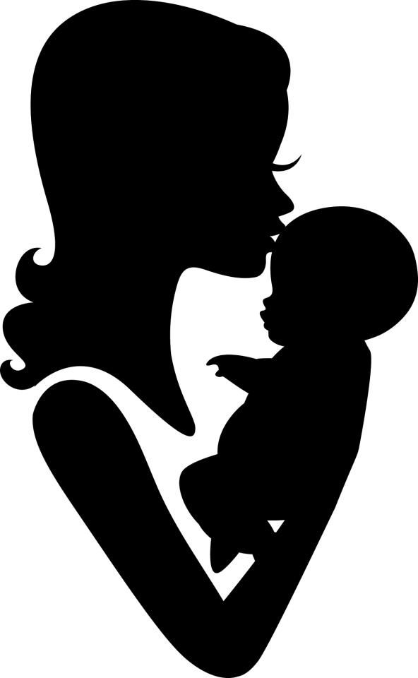 Kisses clipart parent child Baby and Pin Daughters on