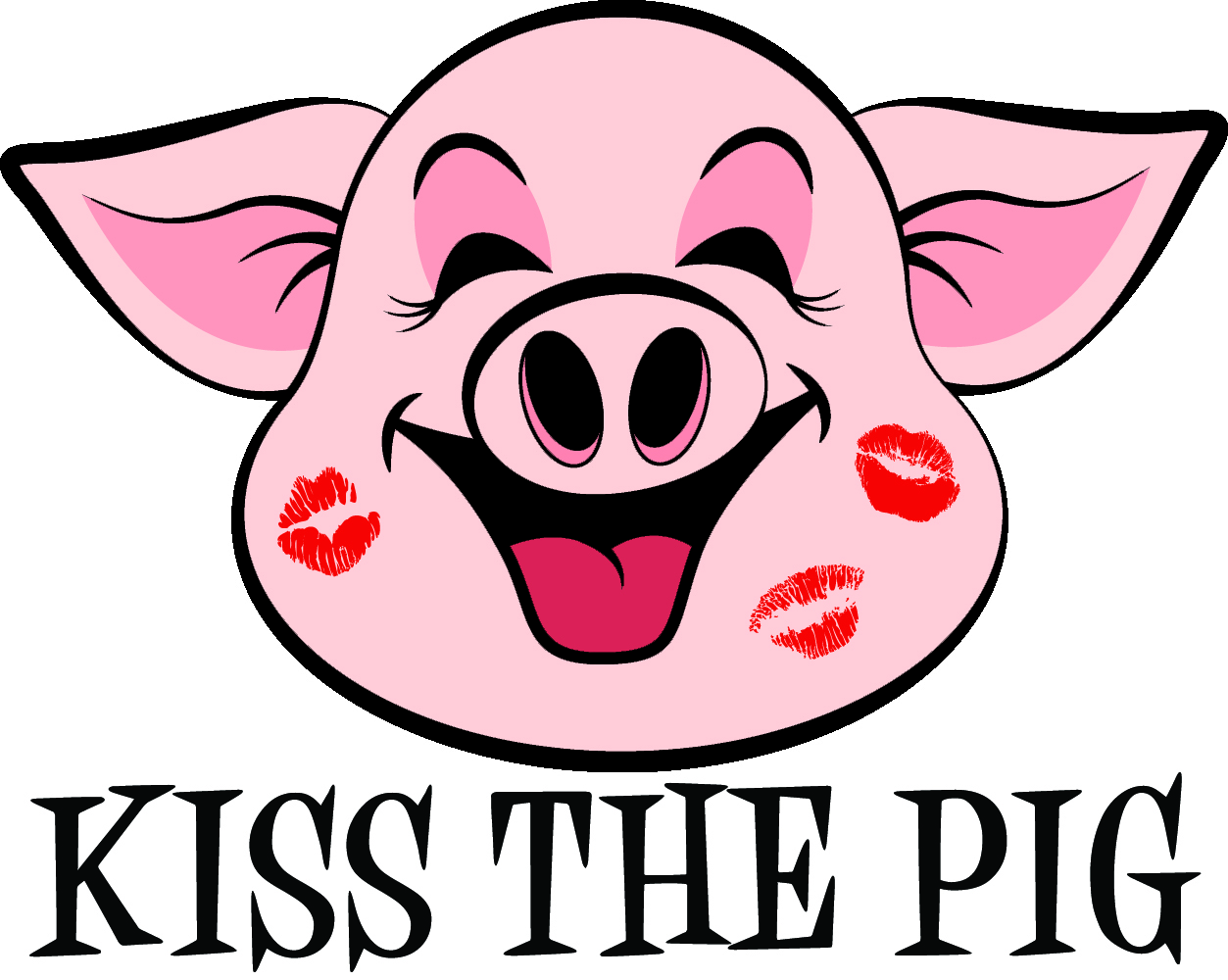 Kisses clipart pig – Management Management one to