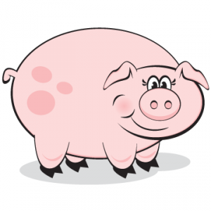 Kisses clipart pig For for Fundraising a Kissing