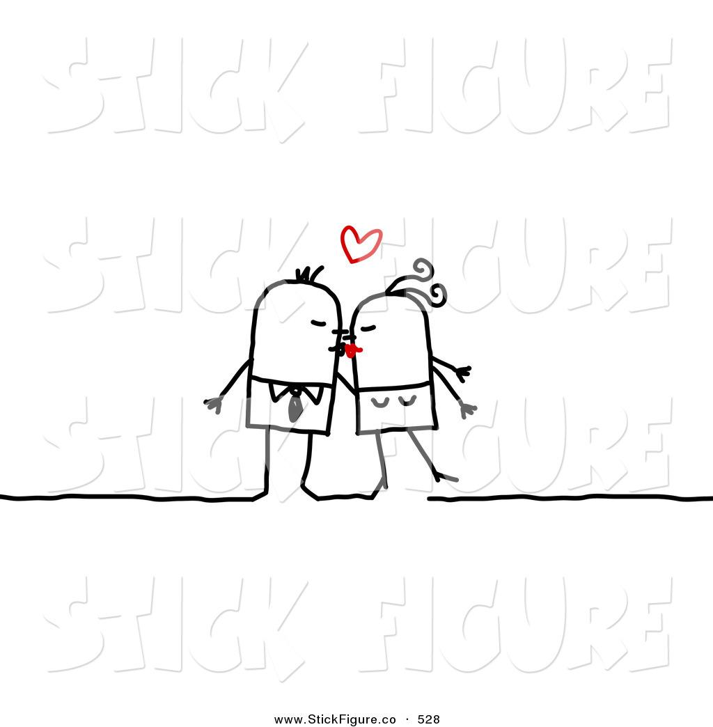Kisses clipart stick figure Free Stock Stock Free Stick