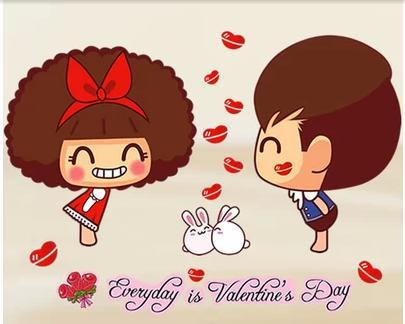 Kisses clipart sweet couple Cartoon remove on Free wall