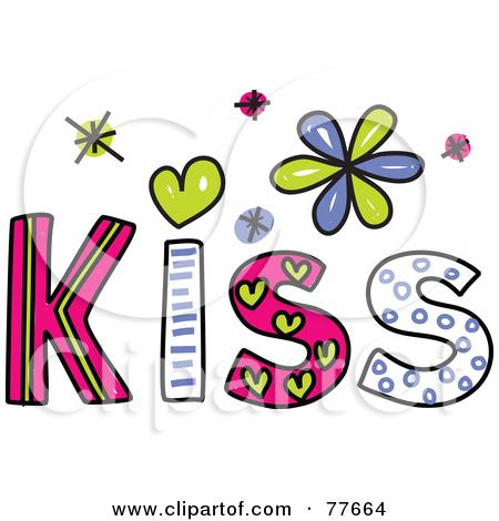 Kisses clipart the word Panda Art Kiss Clip Clipart
