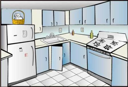 Kitchen clipart Design kitchen Cliparting kid clipartix