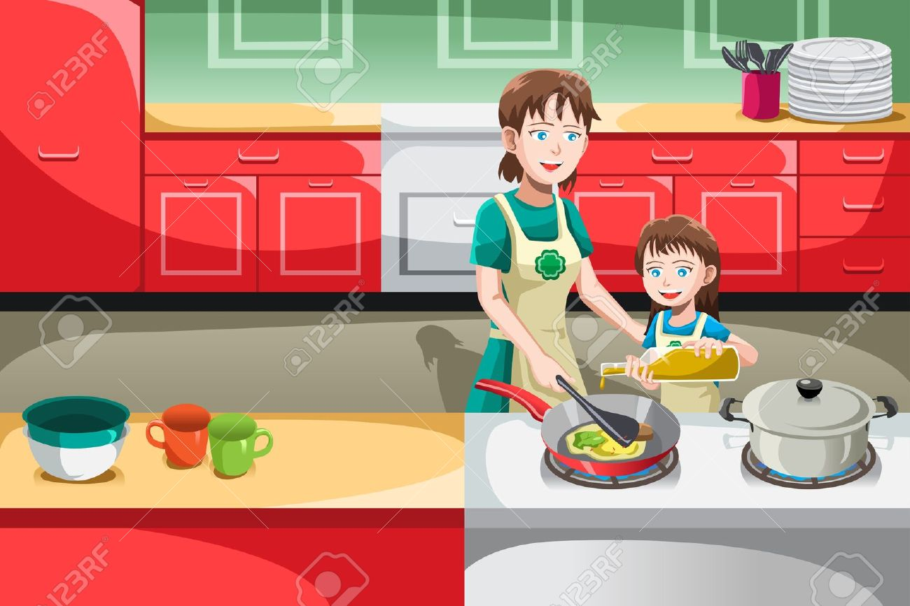 Kitchen clipart animated In Cooking the kitchen clipart