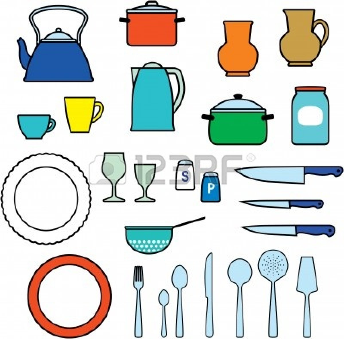 Kitchen clipart animated  chef clipart Animated tools