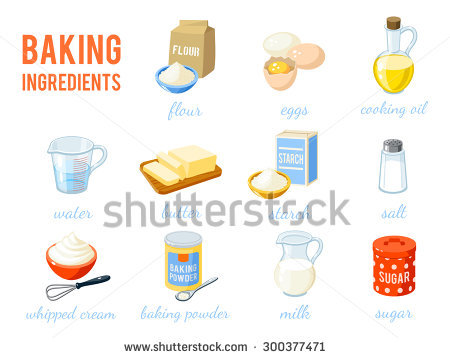 Flour clipart ingredient Free Baking collection Clipart clipart