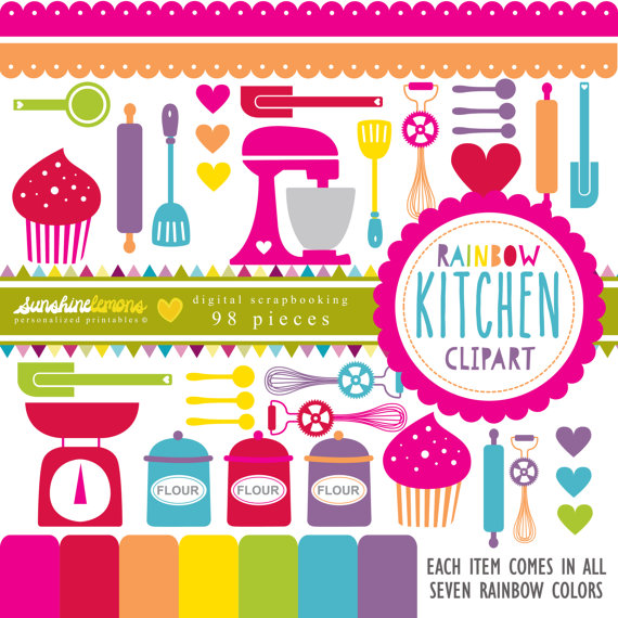 The Kitchen clipart baking Kitchen fun  Utensils Clipart