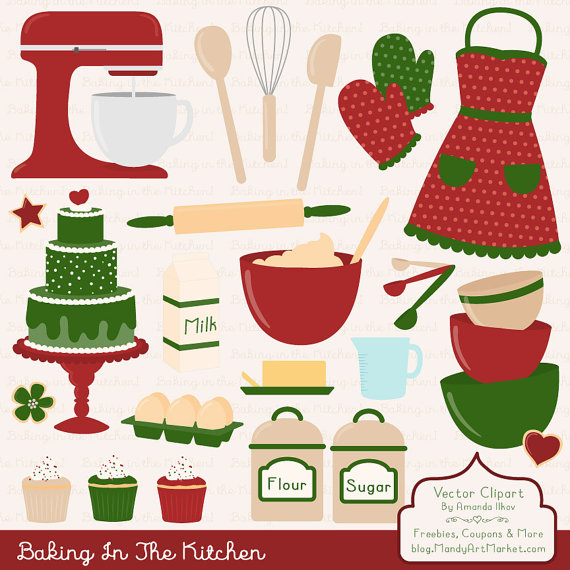 The Kitchen clipart baking Vectors Apron Vectors Clipart